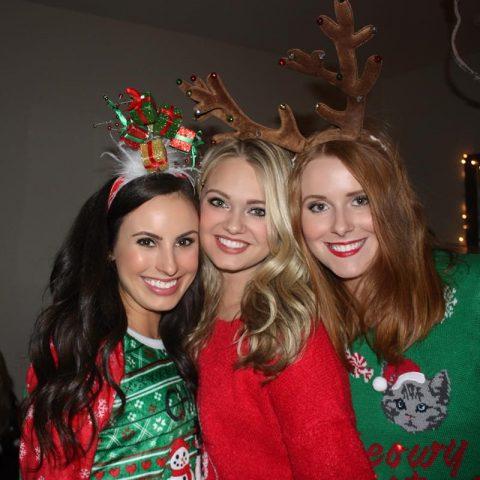 Christmas sweater photo